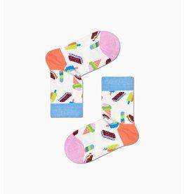 Happy Socks Kindersokken met selectie ijsjes