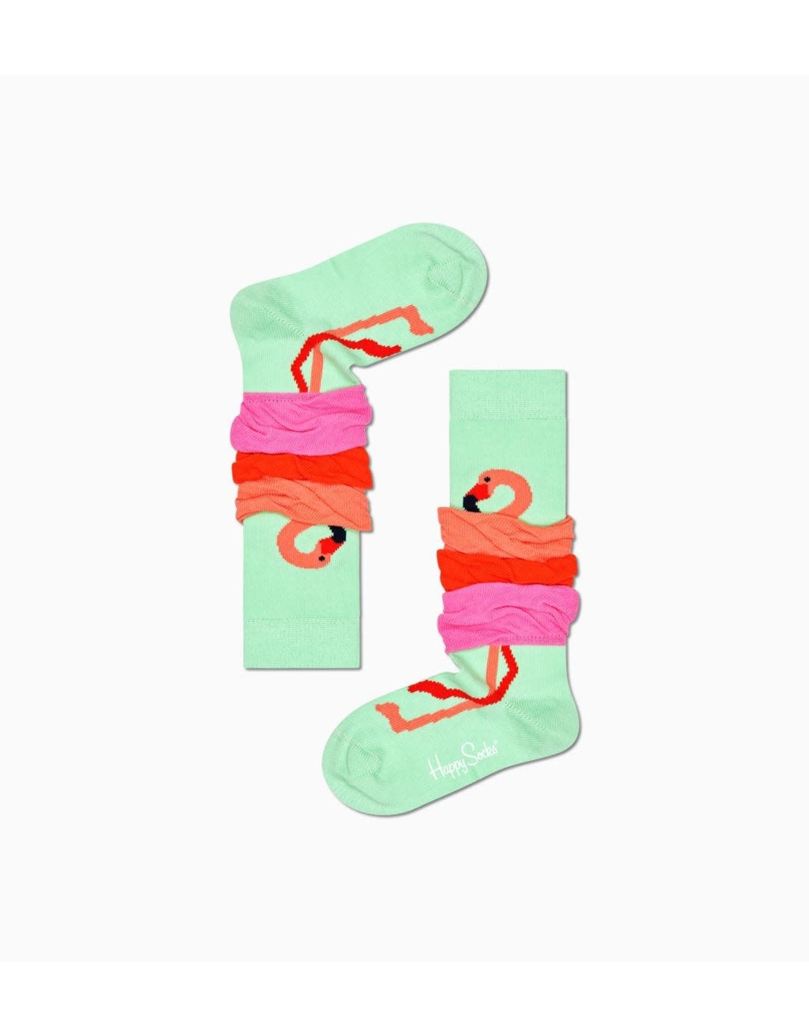 Happy Socks Flamingo kniekousen voor kinderen
