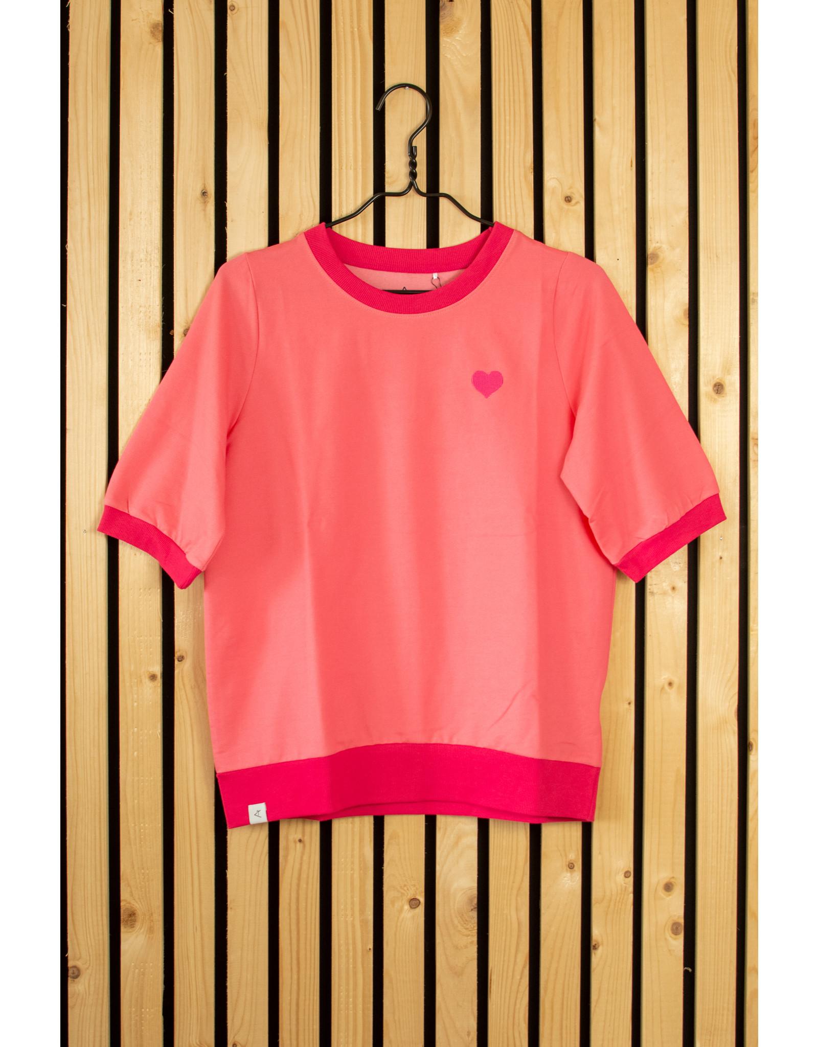 ALBA of Denmark VOLWASSENEN Roze t-shirt