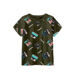 Name It Groene retro Polaroid t-shirt