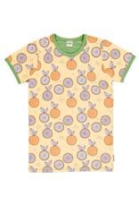 Meyadey VOLWASSENEN T-shirt met mandarijnen