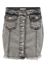 KIDS ONLY Grijze jeans rok met zakjes