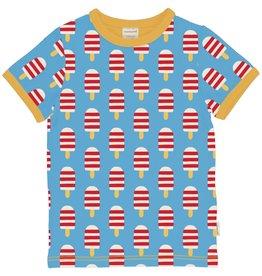 Maxomorra T-shirt met ijsjes print