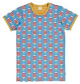 Maxomorra VOLWASSENEN t-shirt met ijsjes print