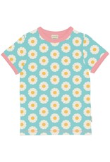 Maxomorra T-shirt met zachte madeliefjes print