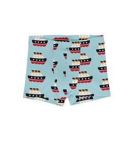 Maxomorra Boxer shorts met boten print