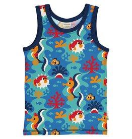 Maxomorra Mouwloze t-shirt met dieren uit de zee