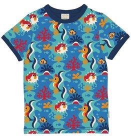Maxomorra T-shirt met koraalrif dieren