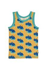 Maxomorra Mouwloze t-shirt met nijlpaarden