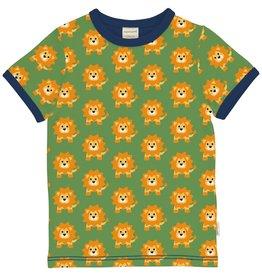 Maxomorra T-shirt met leeuwen print