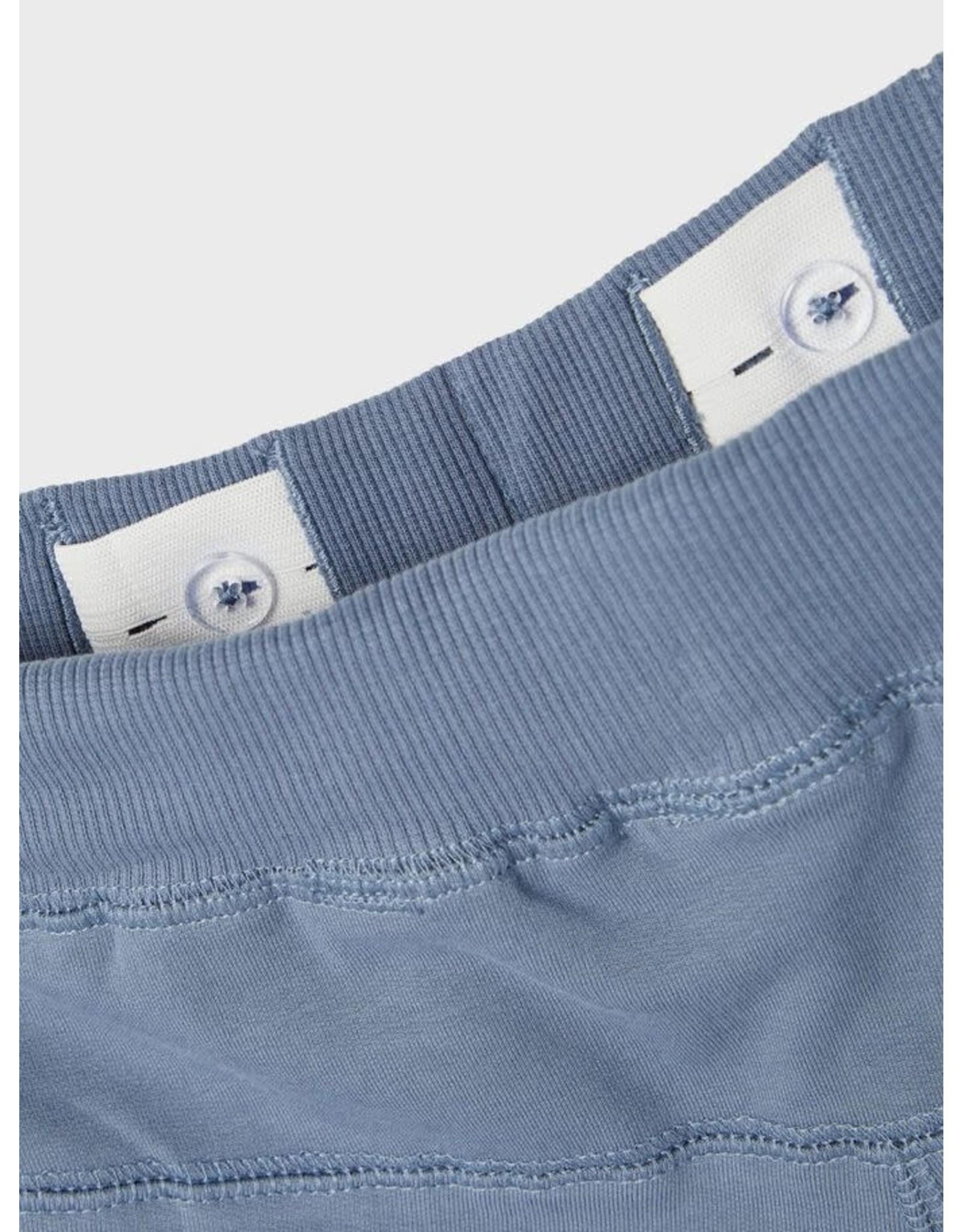 Name It Blauwe katoenen jogging broek