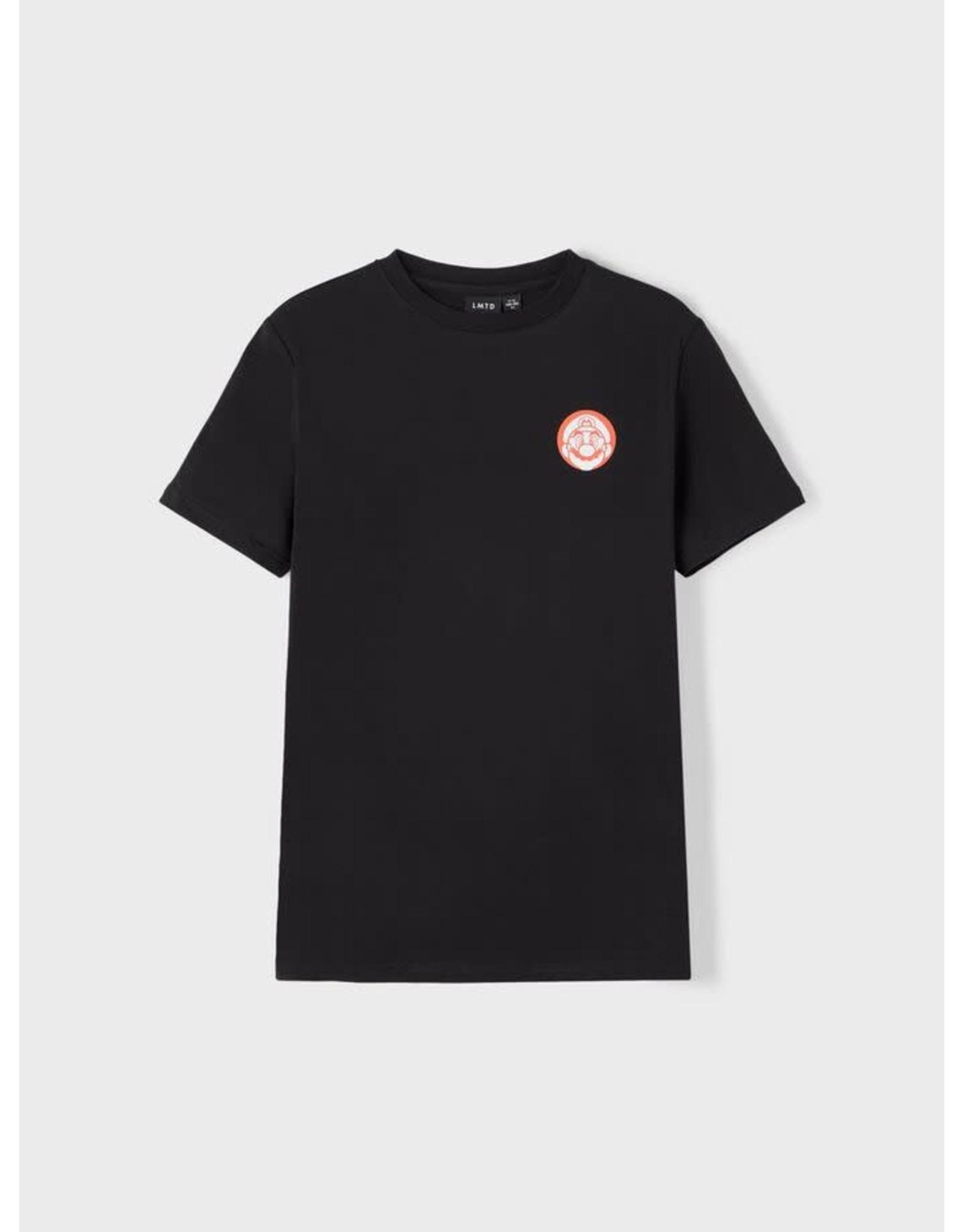 Name It Zwarte Mario Bros t-shirt