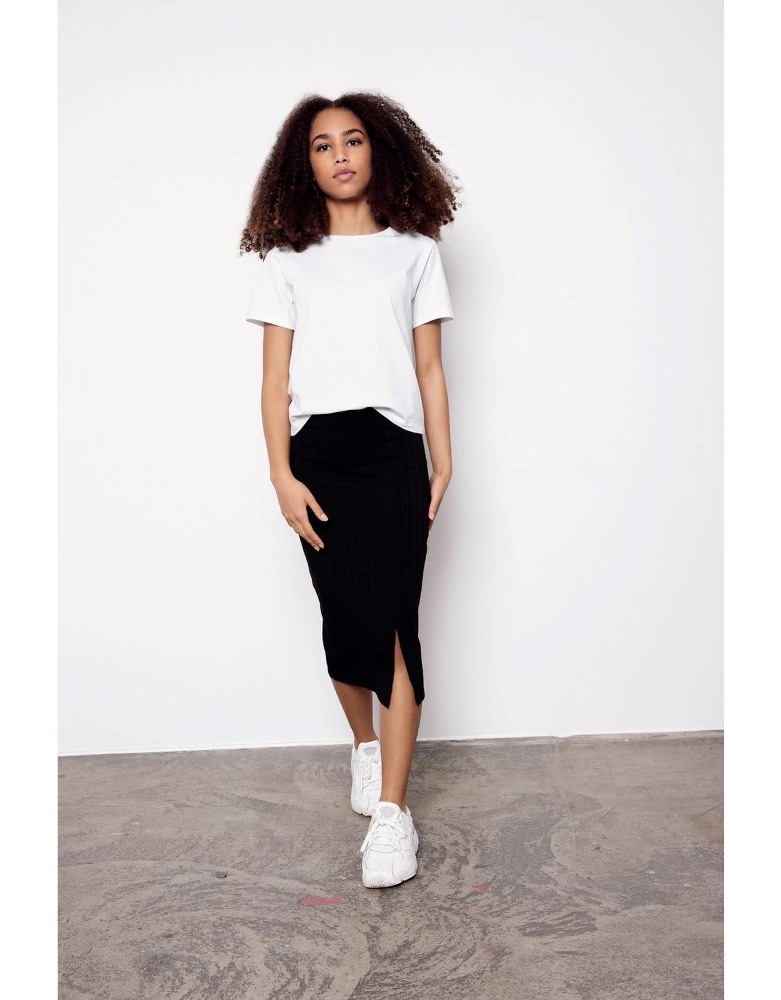 Name It Witte t-shirt breder/korter model