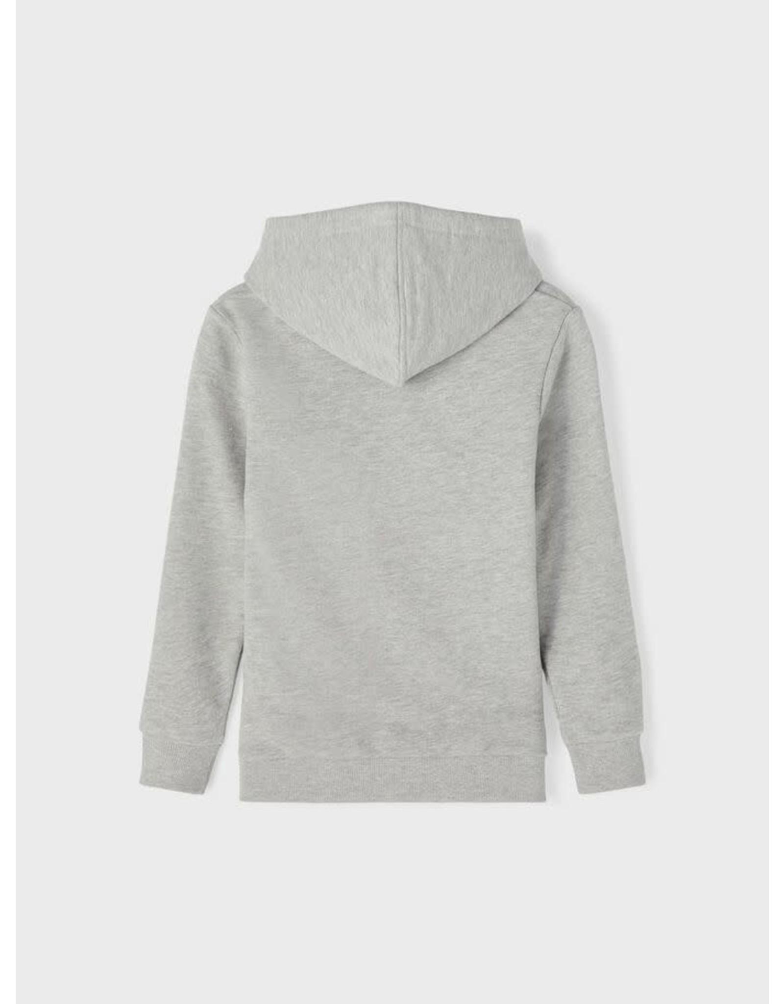 Name It Grijze hoodie trui