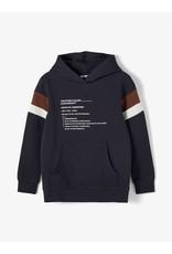 Name It Stoere donkerblauwe hoodie trui