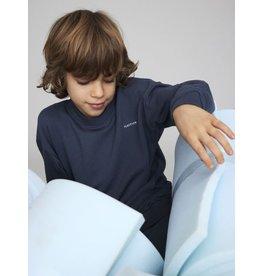 Name It Blauwe katoenen sweatstof trui