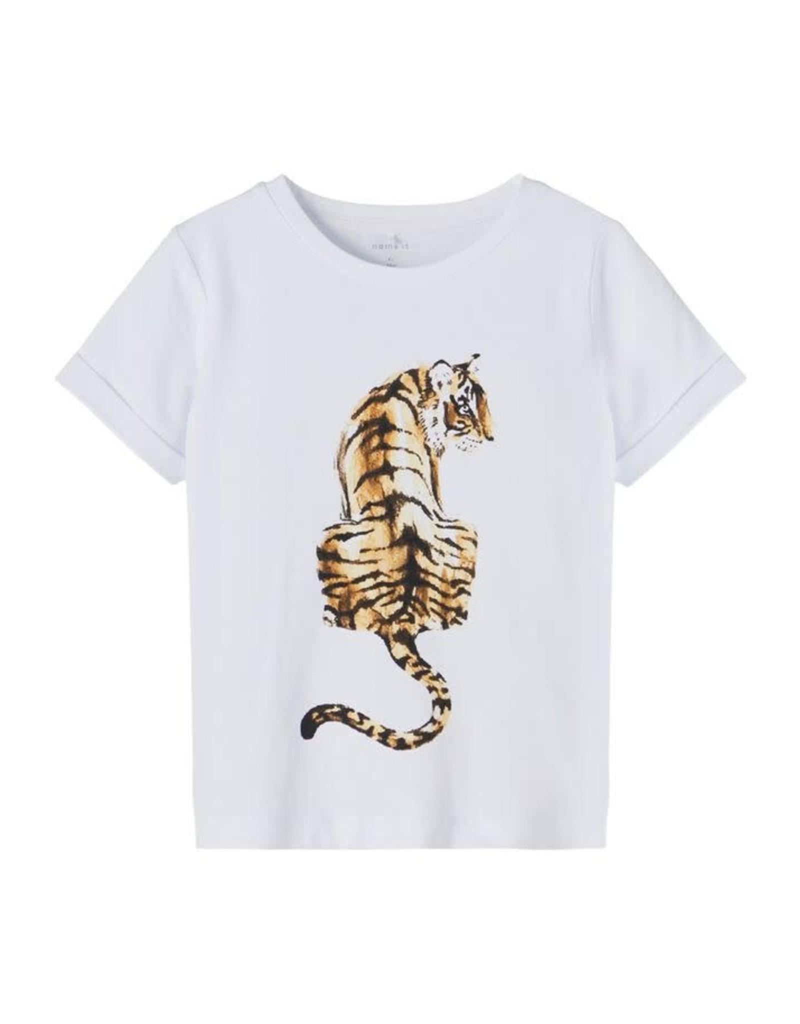 Name It Witte tijger t-shirt