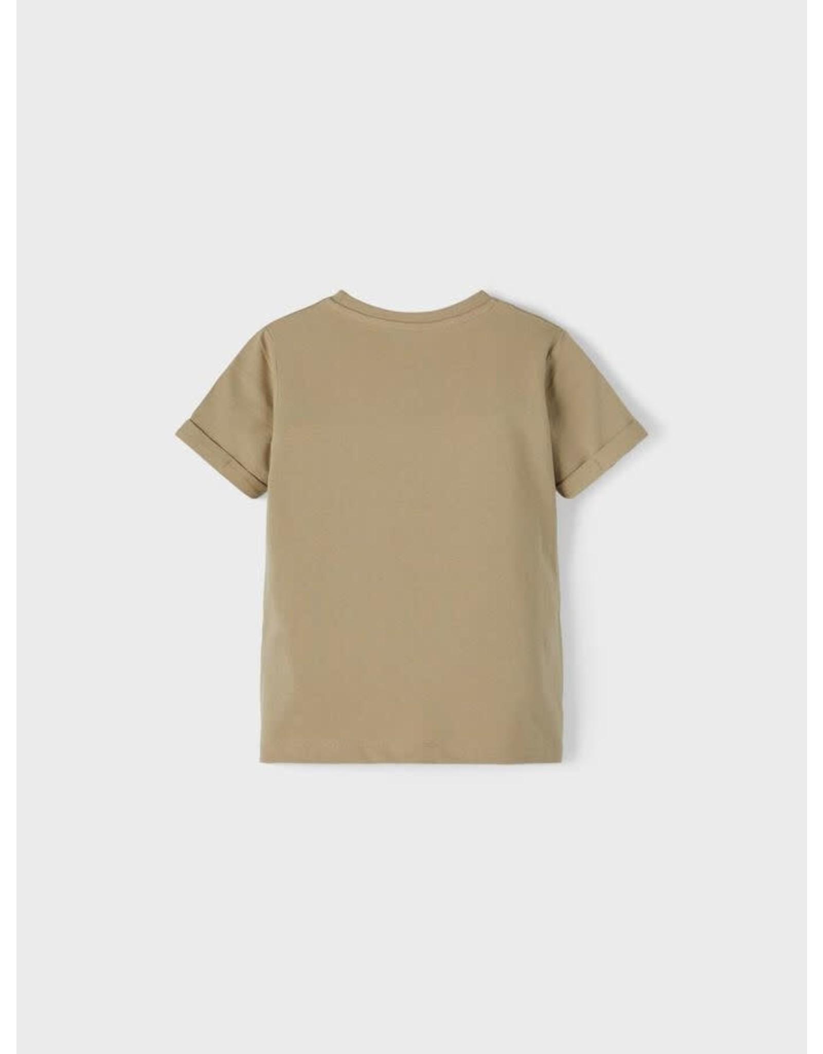 Name It Groene t-shirt met tijger