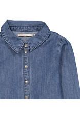 KIDS ONLY Stoer meisjes jeans hemd met drukknopjes