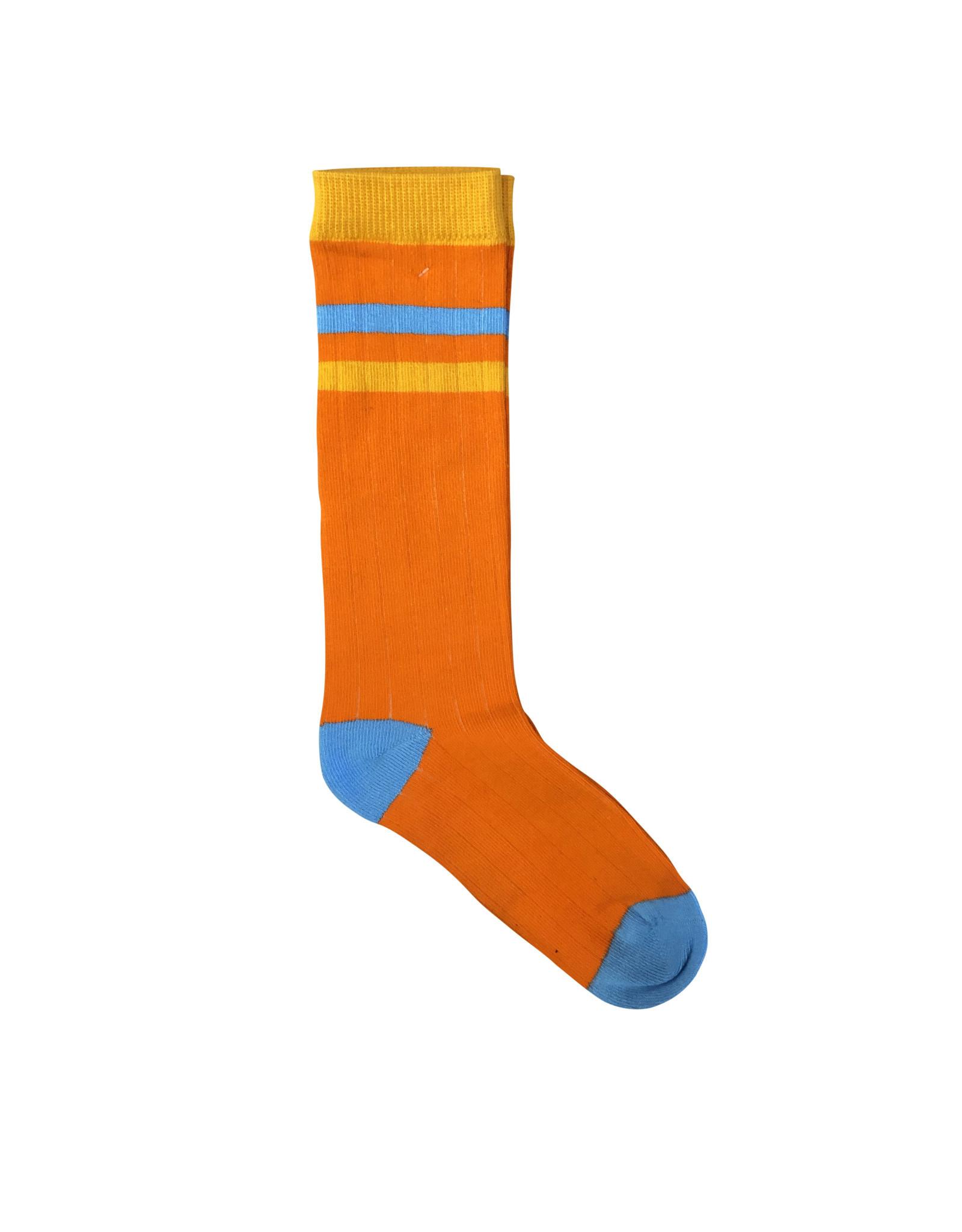 Moromini 545 Ribbed tube socks ORANGE