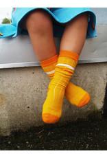 Moromini 545 Ribbed tube socks YELLOW