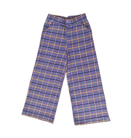 Moromini Super zachte brede ruitjes broek zonder knop