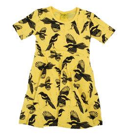 Duns Geel zwierkleedje met vogels