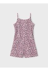 Name It Jumpsuit met roze bloemetjesprint