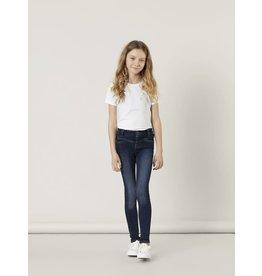 Name It Donkerblauwe skinny jeans voor meisjes