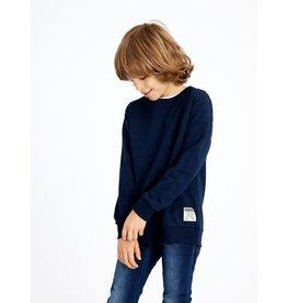 Name It Donkerblauwe zachte sweatstof trui