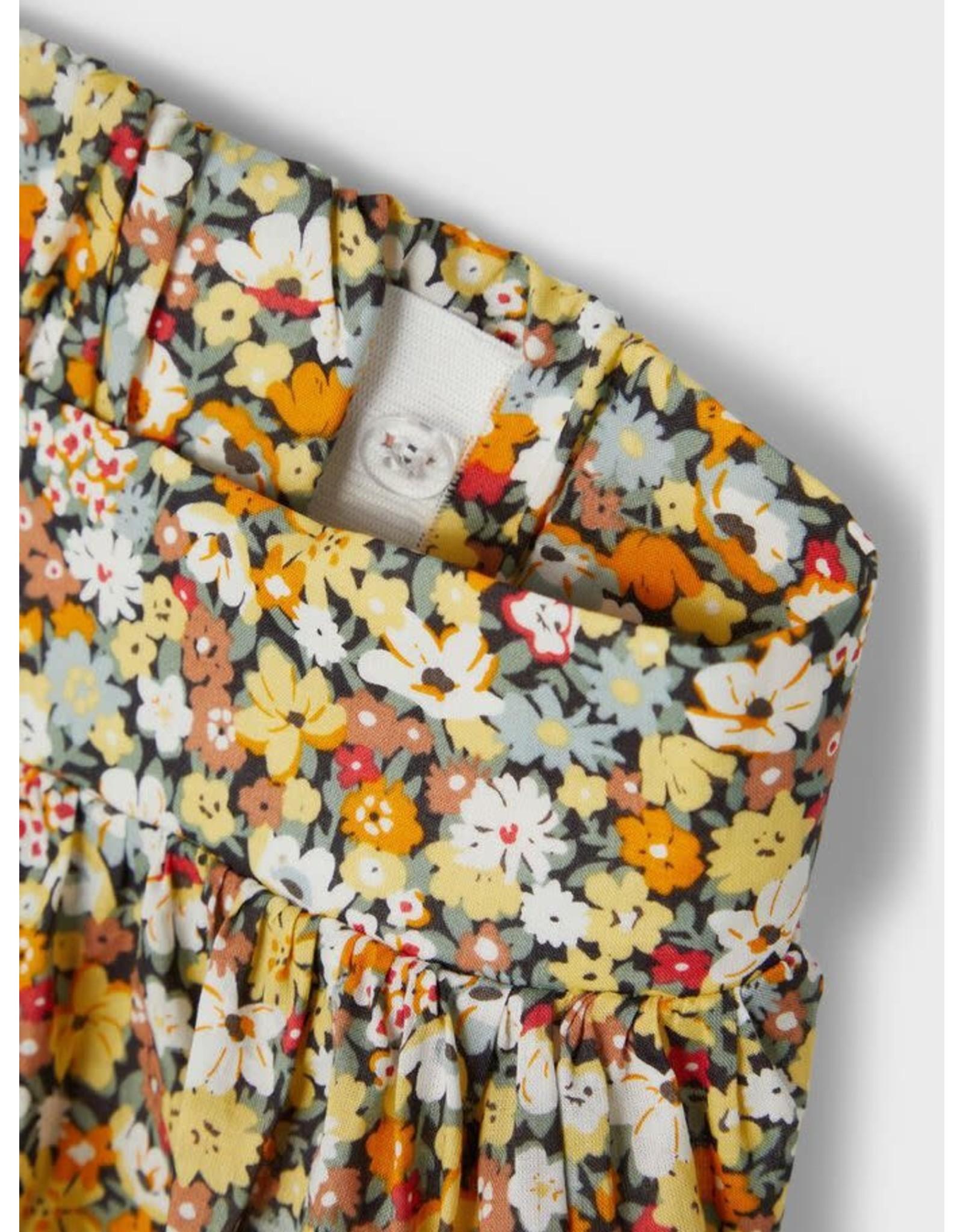 Name It Fleurige halflange rok met bloemen