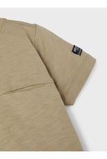 Name It Groen jongens t-shirtje met borstzakje