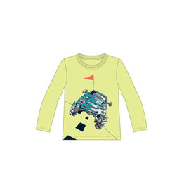 Name It Gele t-shirt met monstertruck