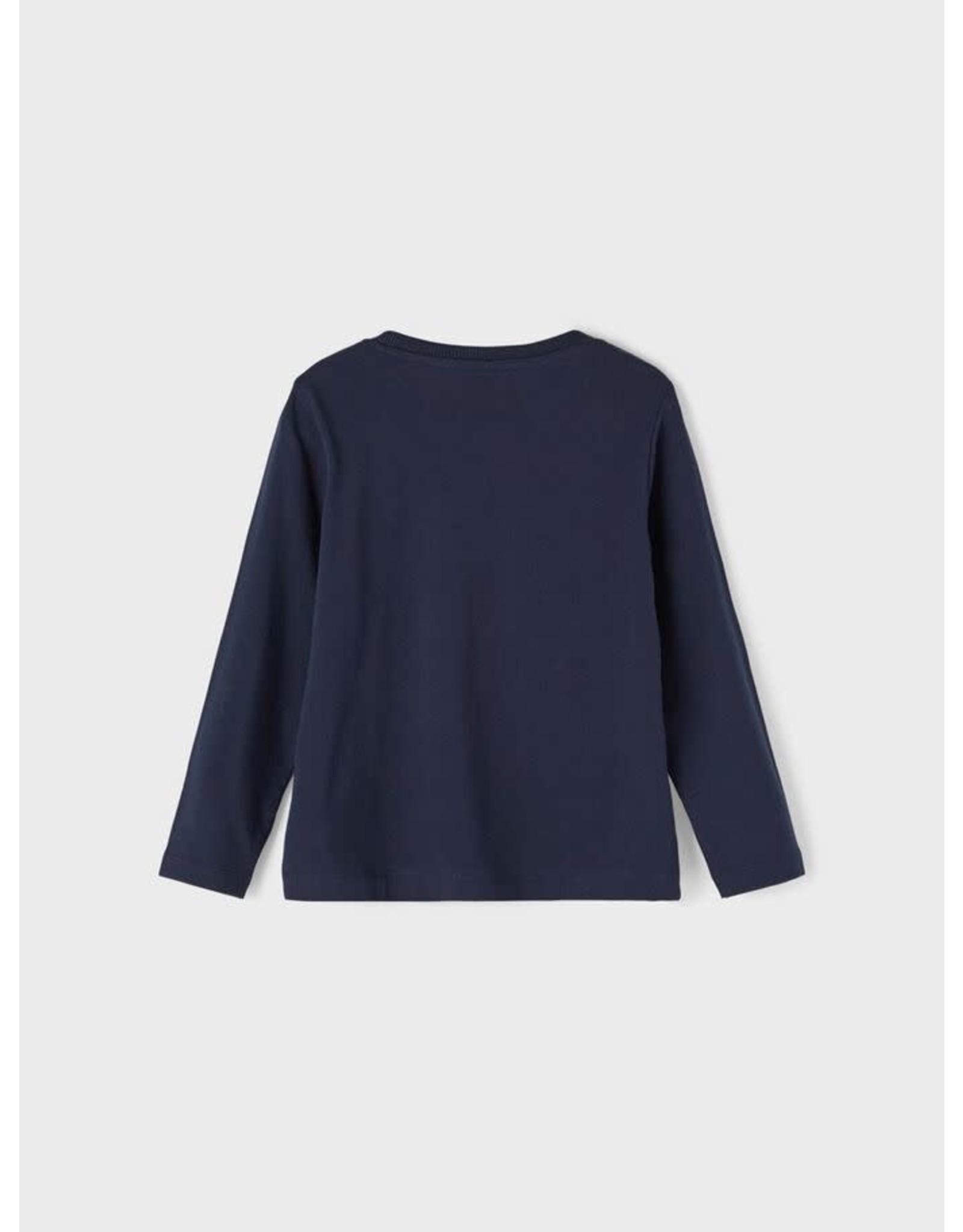 Name It Donkerblauwe dino t-shirt