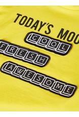 Name It Gele t-shirt met wisselbare teksten