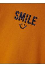 "Name It Koperkleurige trui met opdruk ""Smile"""