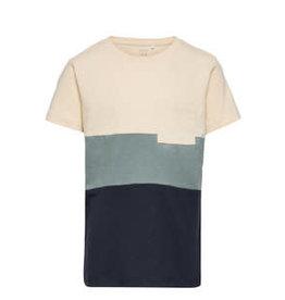 Name It T-shirt met brede blauwe strepen