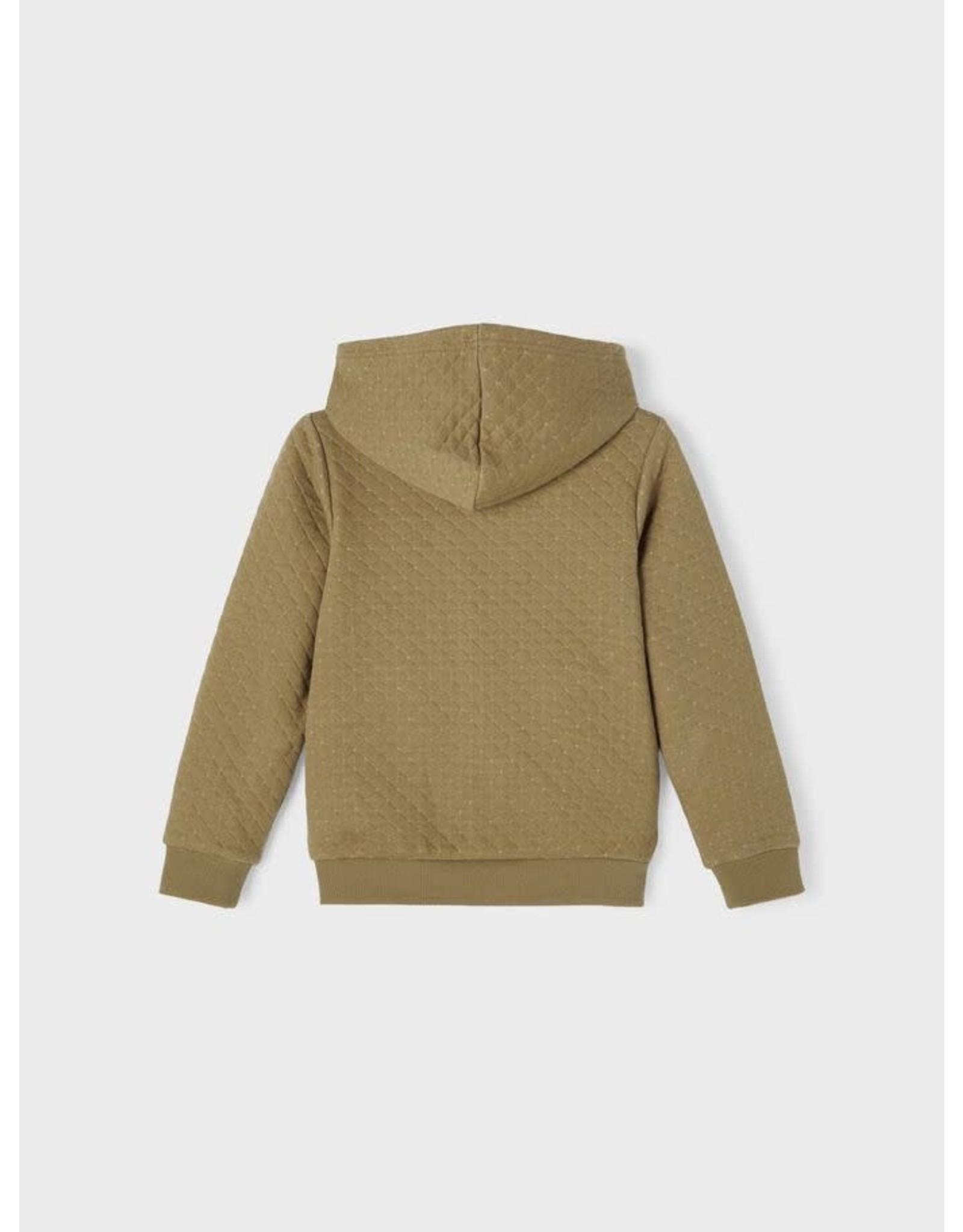 Name It Toffe hoodie vest met rits voor meisjes