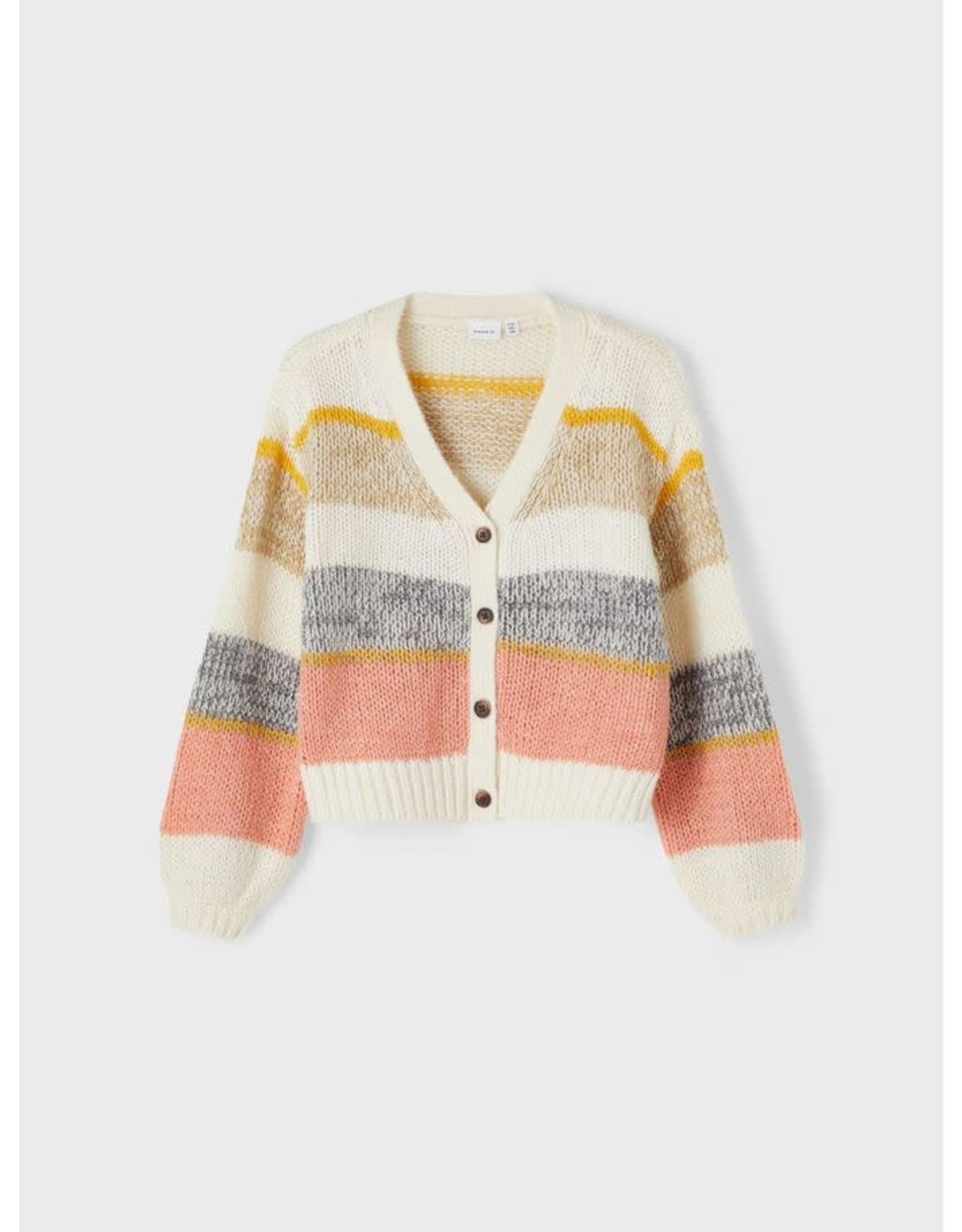 Name It Gebreide vest met knoopjes