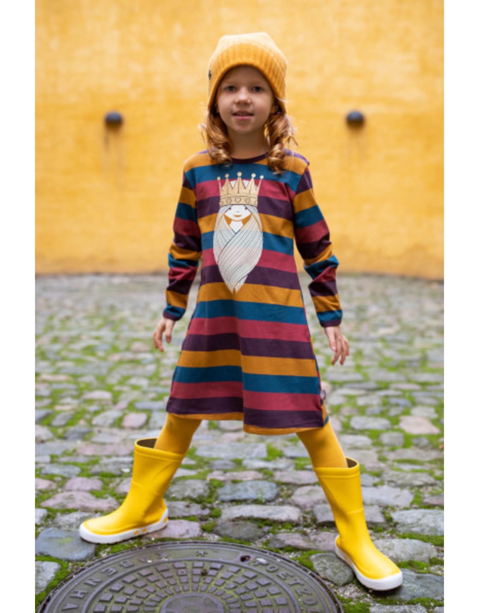 Danefae Gestreept kleedje met viking Freja