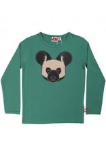 Dyr Groene t-shirt met vleermuis