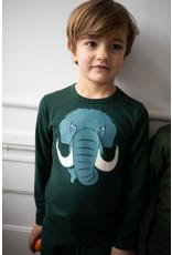 Dyr Groene t-shirt met mammoet