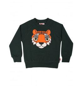 Dyr Zwart groene zachte tijger trui