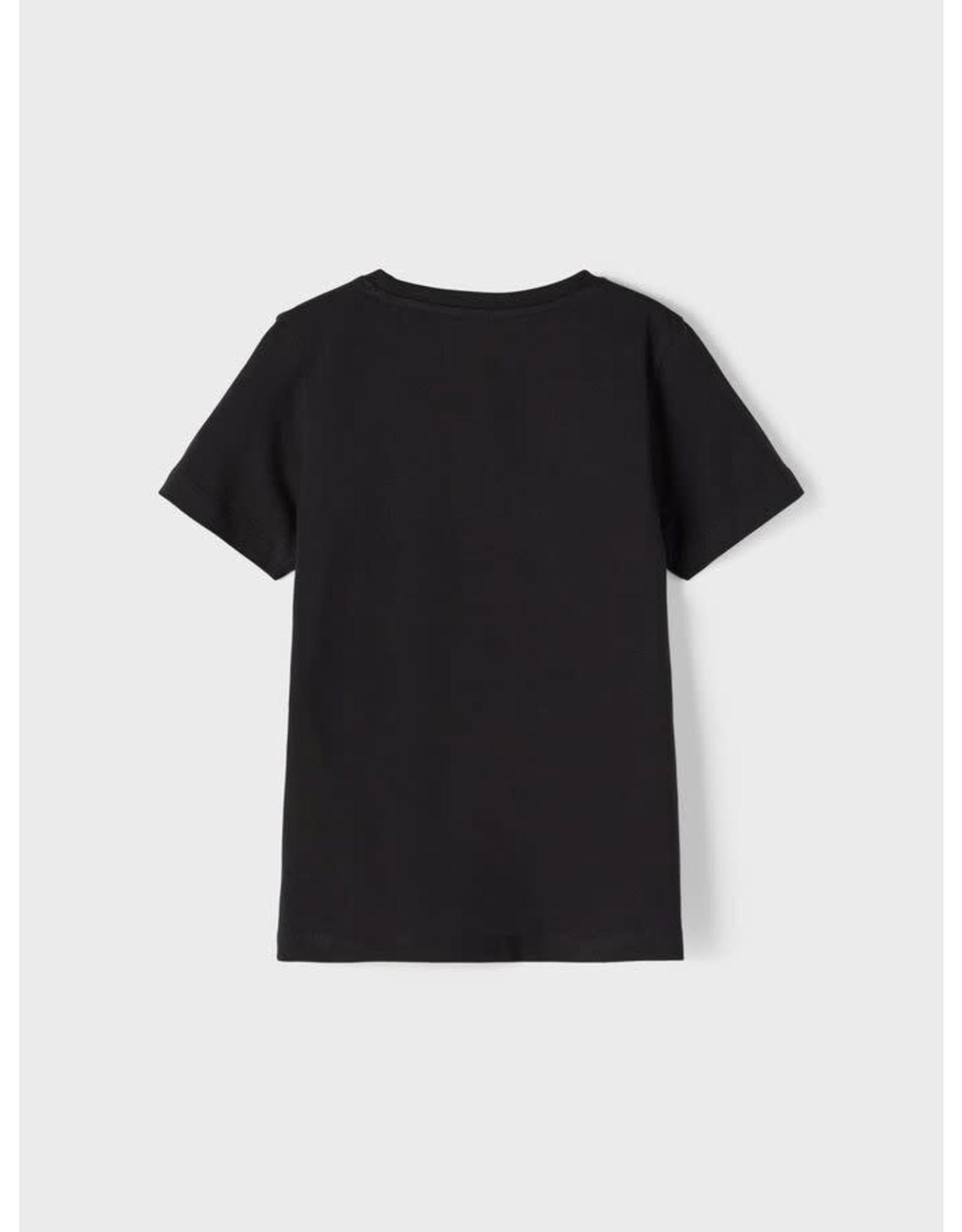 Name It Zwarte AMONG US t-shirt voor meisjes