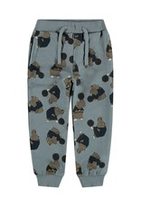 Name It Blauwe nijlpaarden jogging broek