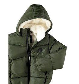 Name It Groene warme winterjas puffer model