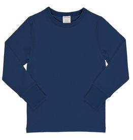 Maxomorra Donkerblauwe t-shirt met lange mouwen
