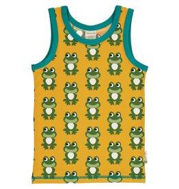 Maxomorra Mouwloze t-shirt met kikker print