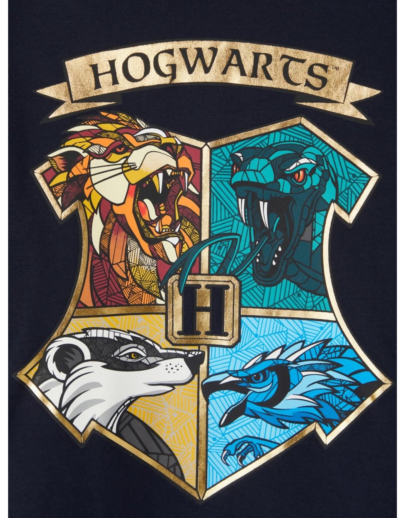 Name It Blauwe trui met Hogwarts logo van Harry Potter