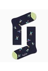 Happy Socks VOLWASSENEN sokken met tennis print